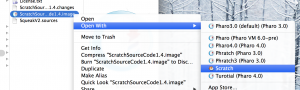 ScratchSource1.4.imageの起動